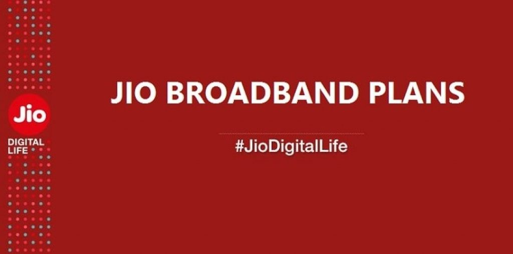 Reliance Jio Broadband Plans