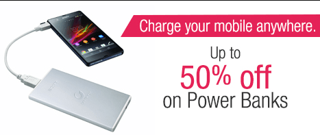 Power banks Offers Deals loot Discount