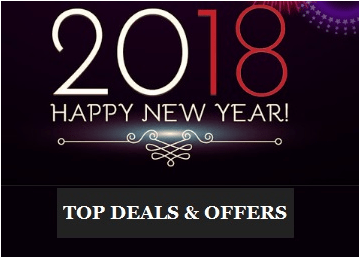 Happy New Year 2018 Offers & Top Deals