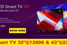 Script Trick to buy Mi LED Smart TV 4 & Mi LED Smart TV 4A